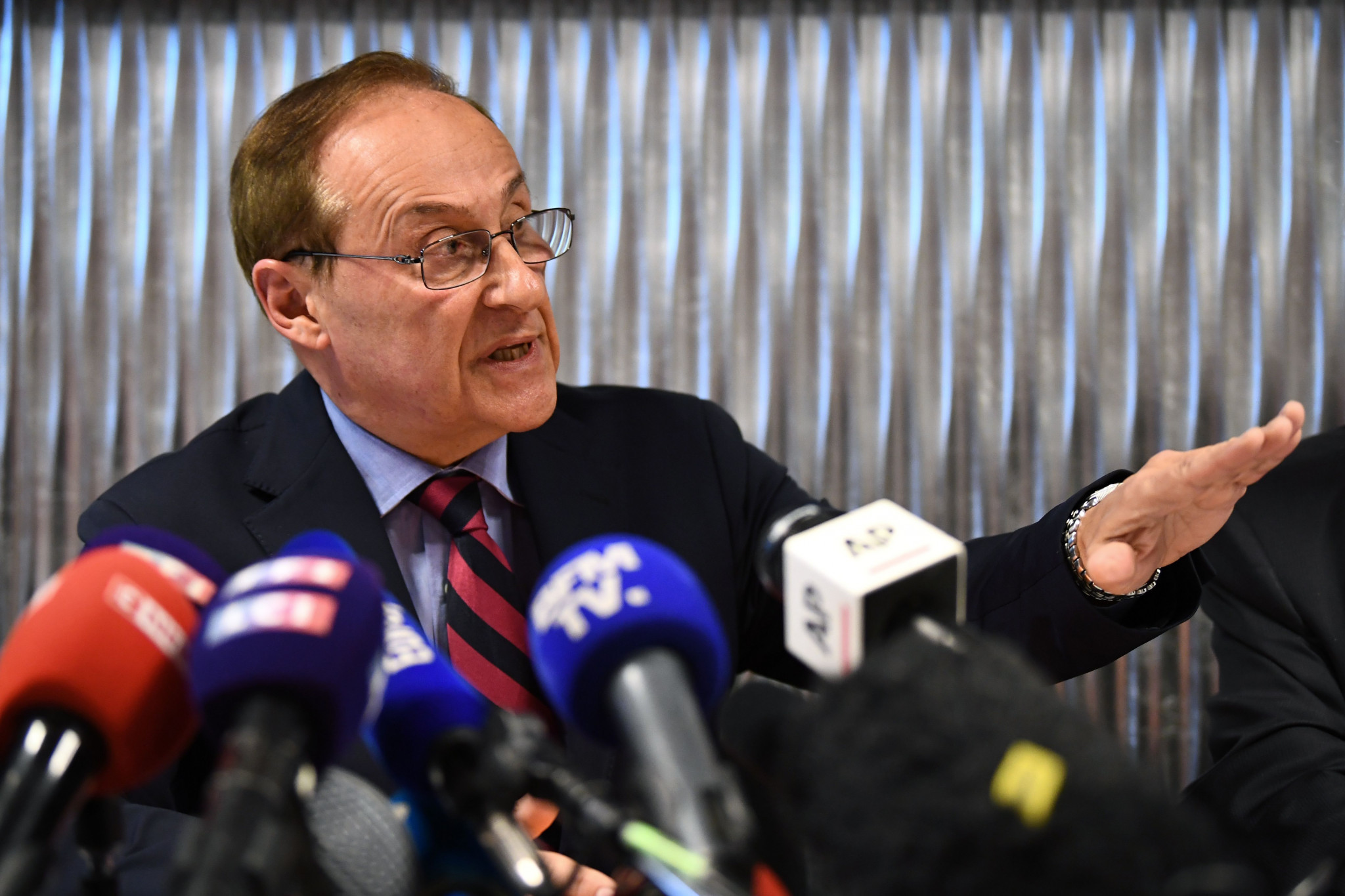 Under-fire Gailhaguet refuses to resign from French National Olympic and Sports Committee role