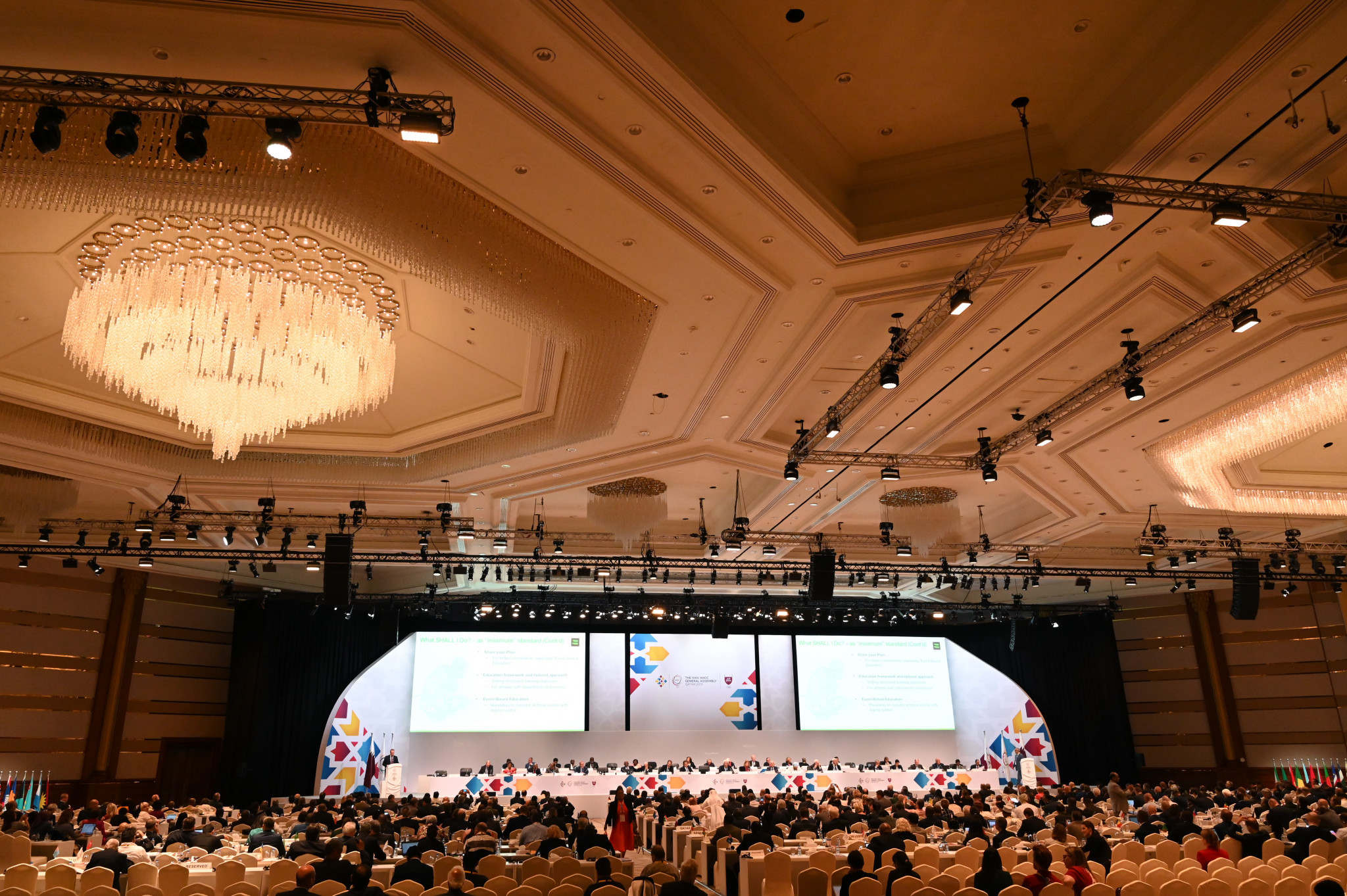 Last year's ANOC General Assembly was held in Doha ©Getty Images