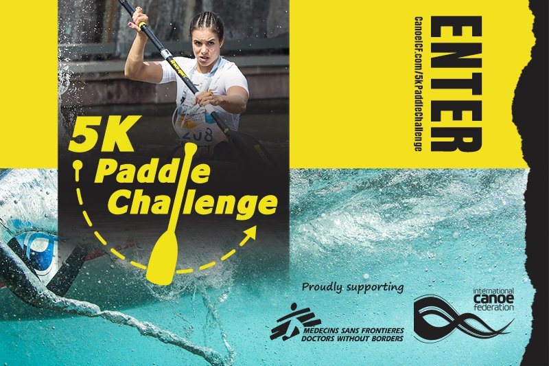 International Canoe Federation launches virtual 5km paddle challenge