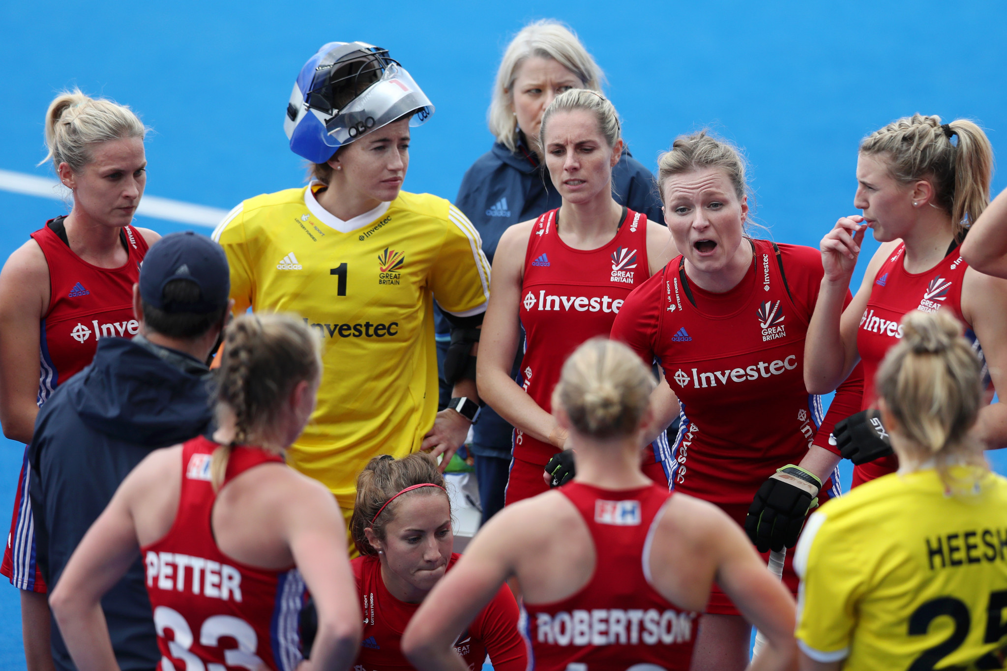 Investec last month ended a nine-year sponsorship arrangement with Great Britain Hockey and England Hockey ©Getty Images