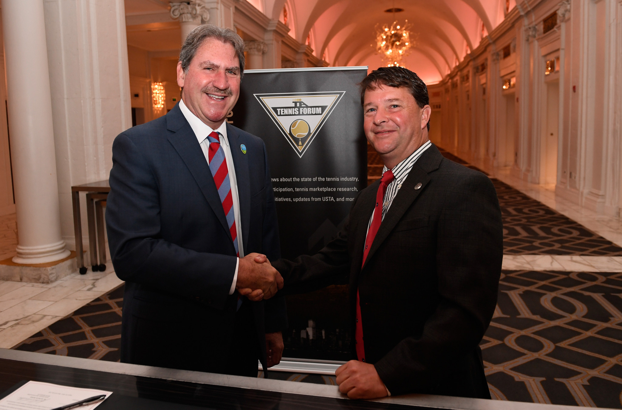 Special Olympics and the International Tennis Federation signed a Memorandum of Understanding in 2016 ©Special Olympics