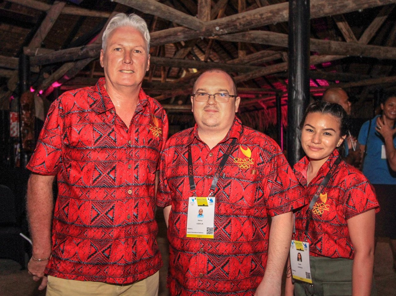 FITEQ presented at the 2019 Oceania National Olympic Committees General Assembly in Fiji ©FITEQ
