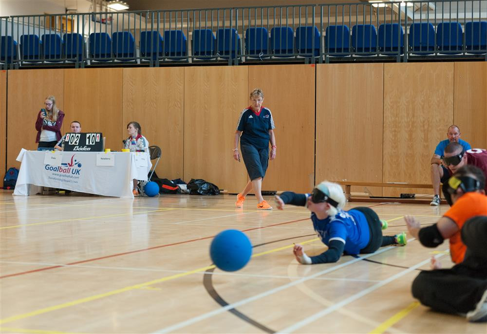 Long-standing goalball official launches fundraising challenge