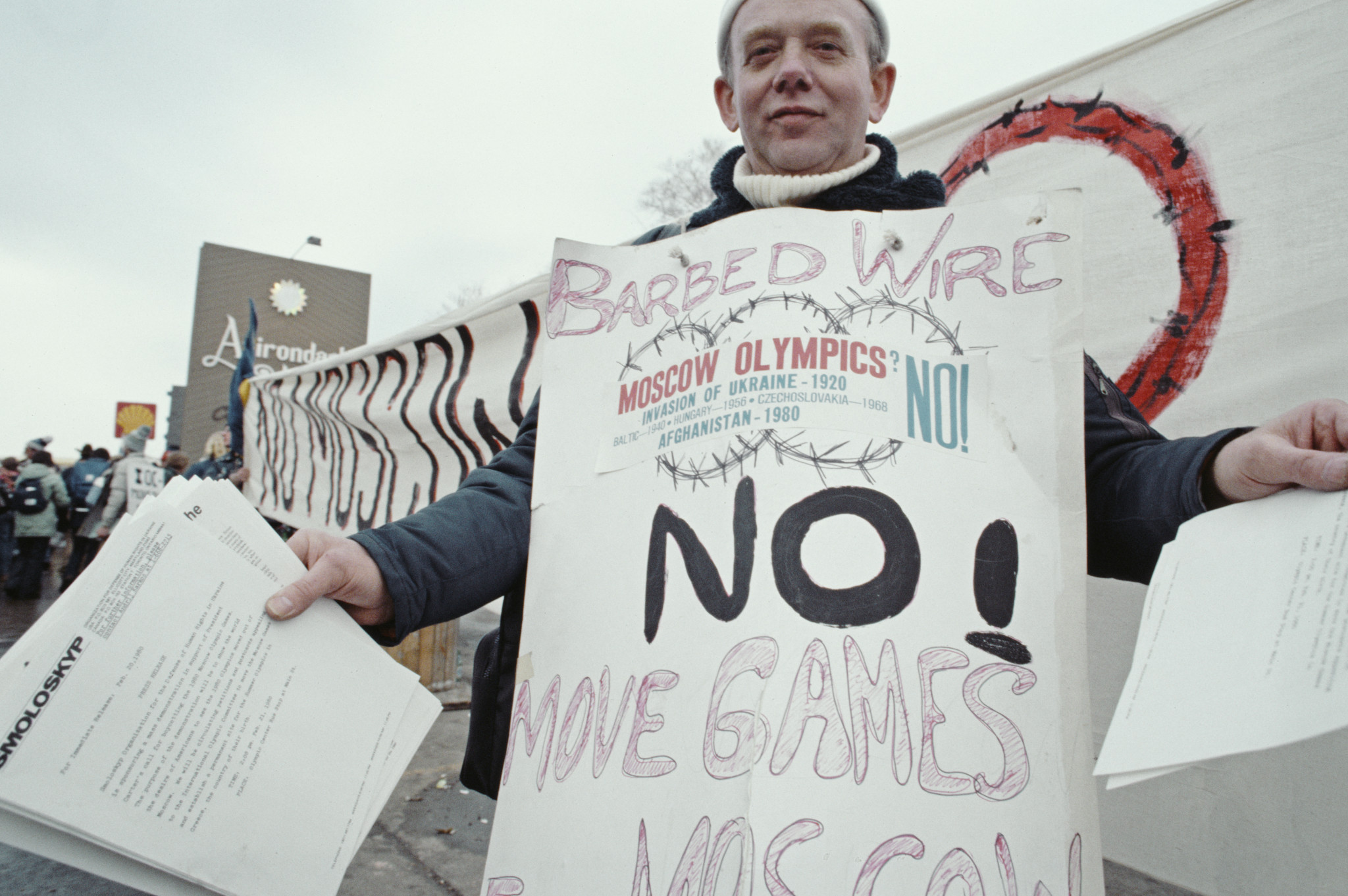 The United States led a boycott of Moscow 1980 ©Getty Images