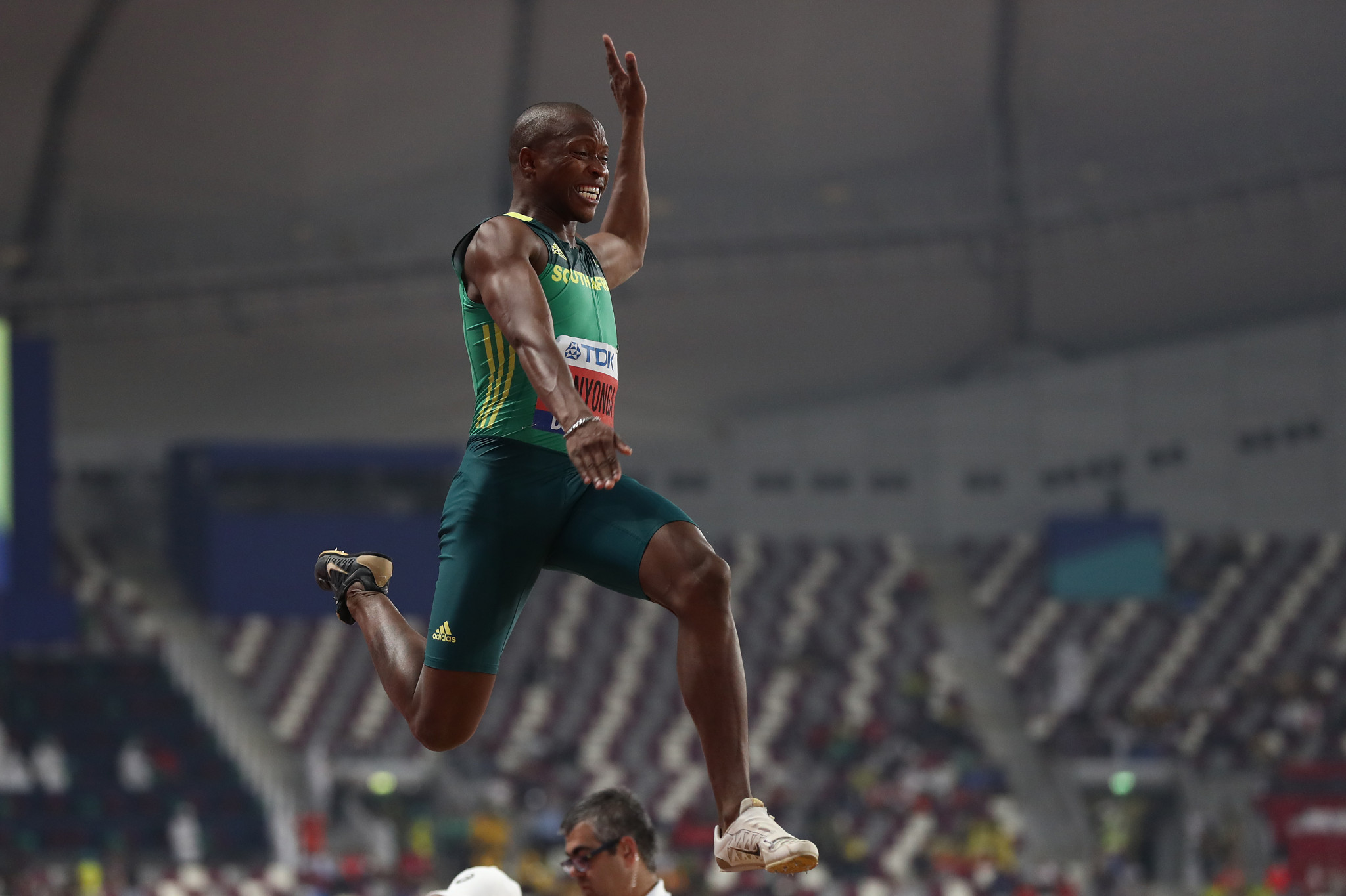 South African long jumper Manyonga fined for breaking lockdown rules