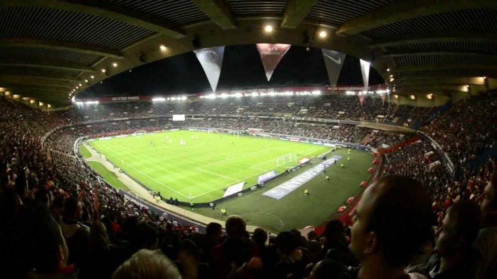 Paris' Parc des Princes stadium would host the football final at Paris 2024 under current plans ©YouTube
