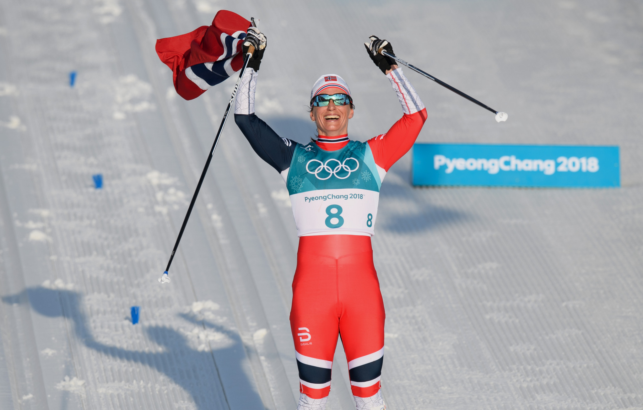 Marit Bjørgen is the most-decorated athlete in Winter Olympic history ©Getty Images