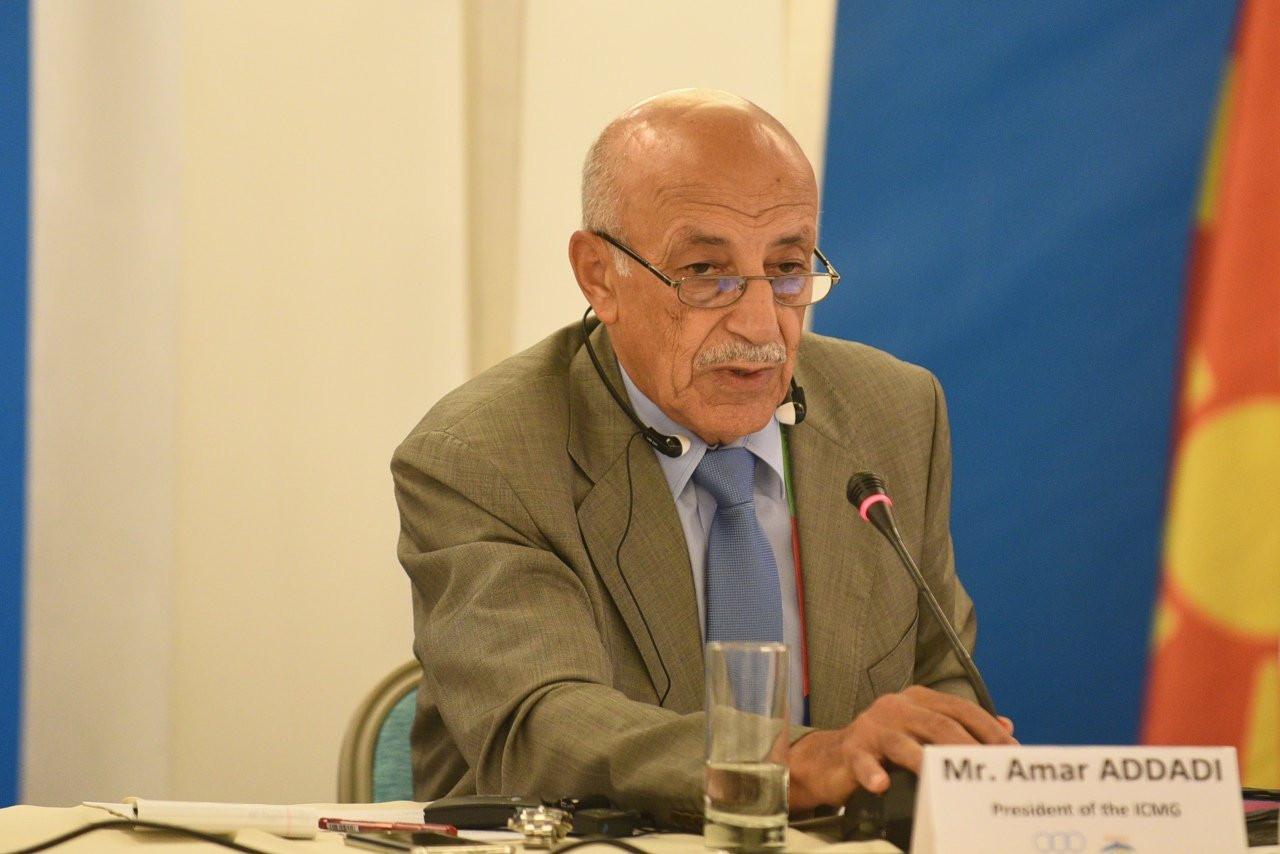 CIJM President Amar Addadi was present on the teleconference call ©CIJM