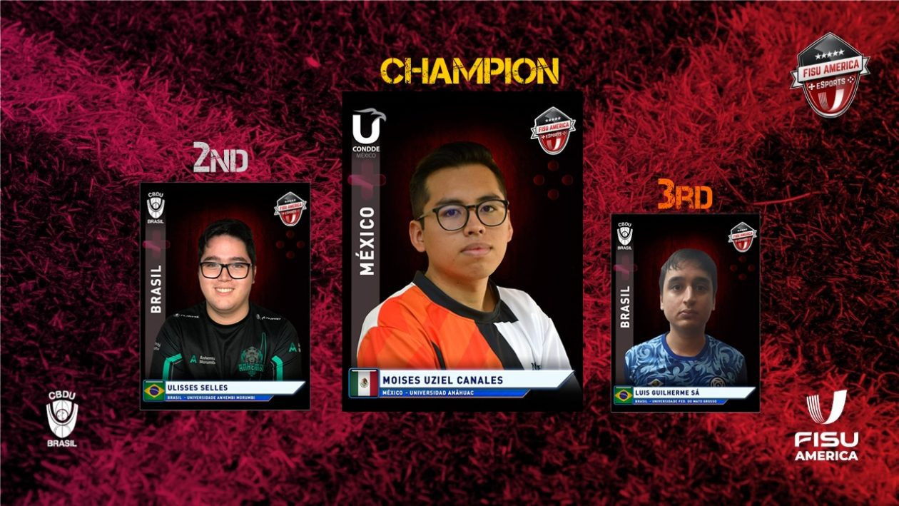 Mexican wins FISU America's first-ever international esports competition