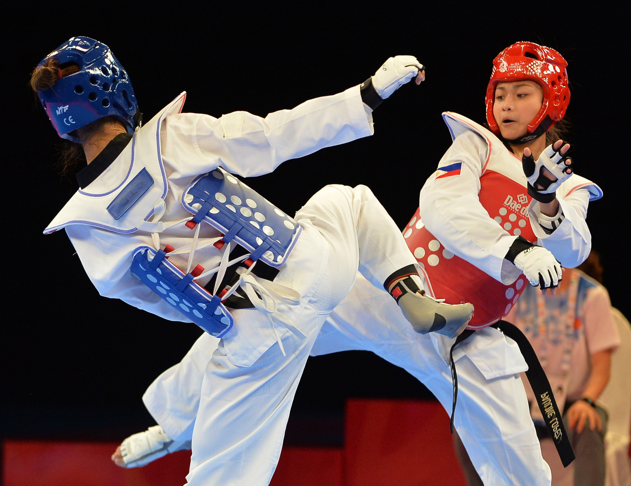 Filipino taekwondo star Lopez launches project to help girls in vulnerable communities
