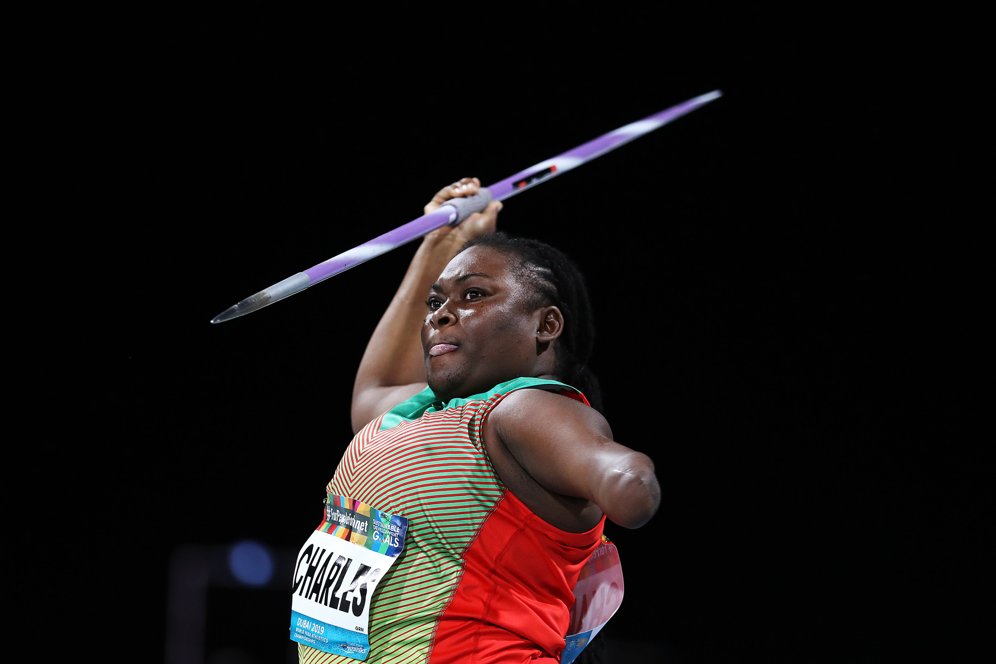 Charles aims to change perceptions and become Grenada's first Paralympian