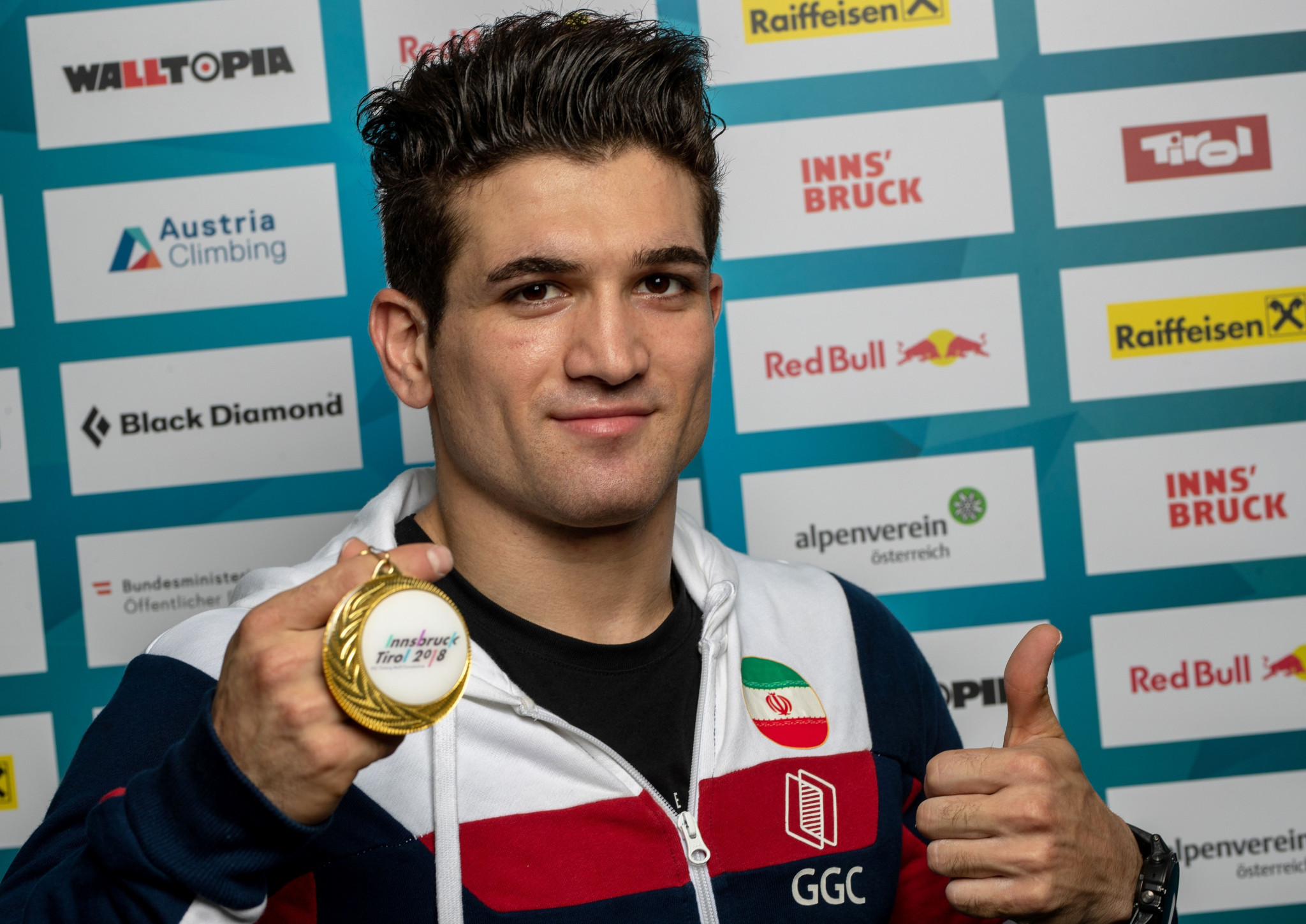 Iranian climber Alipour aims for Paris 2024 gold