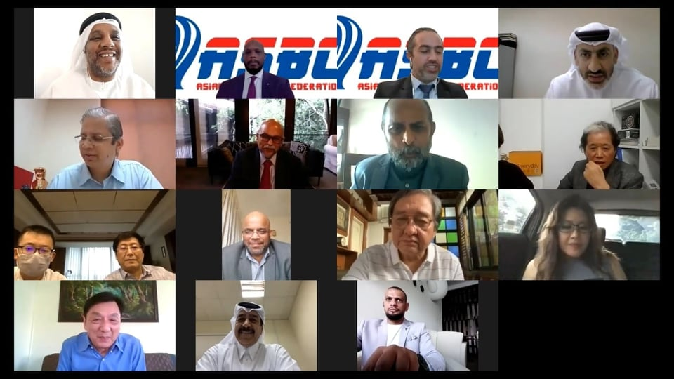 The ASBC held its first virtual Executive Committee meeting ©ASBC