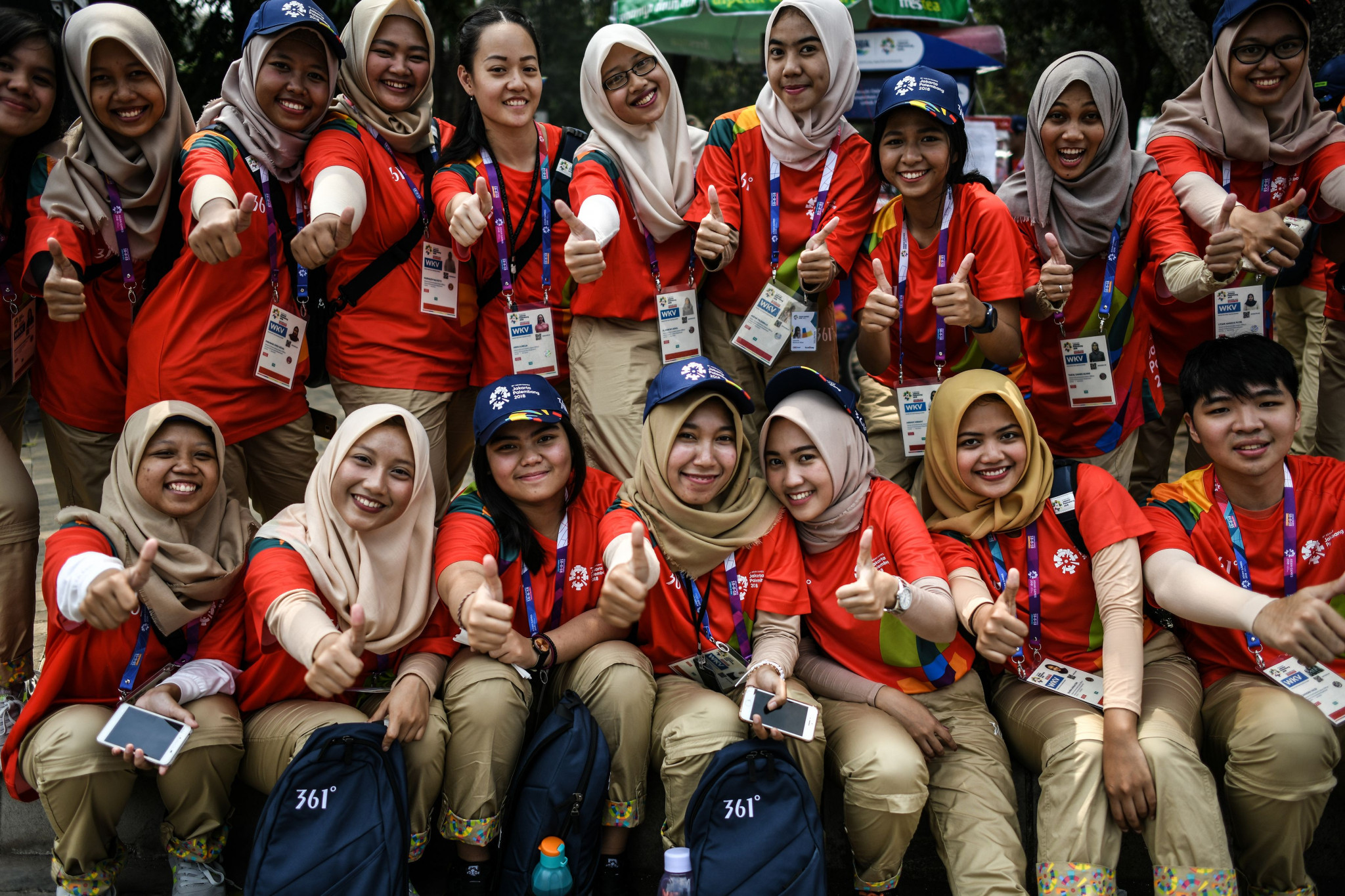 Volunteers will be assigned to different positions at the Games, with successful candidates required to undergo training ©Getty Images