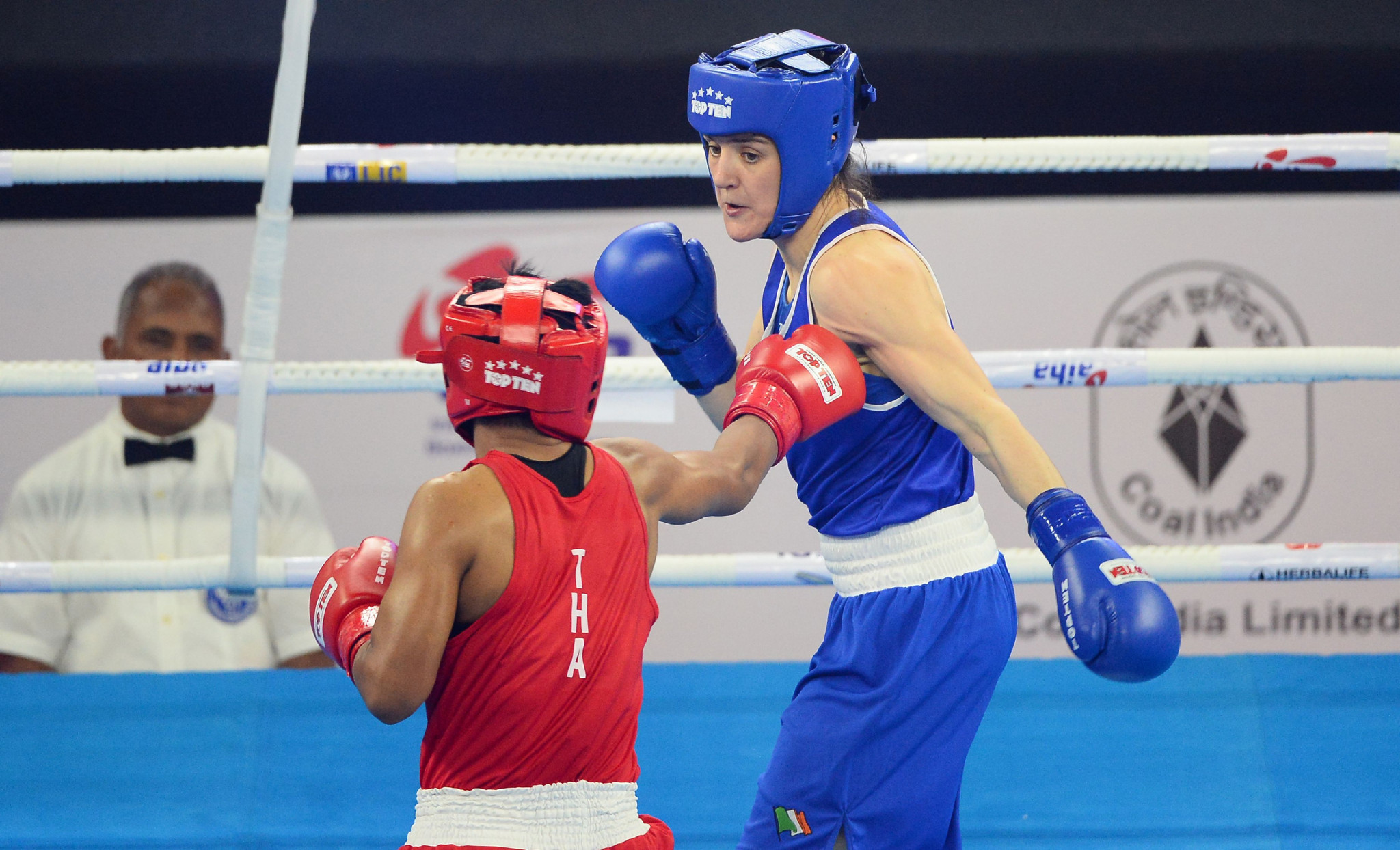 Boxing world champion Harrington not worrying about potential Tokyo 2020 cancellation