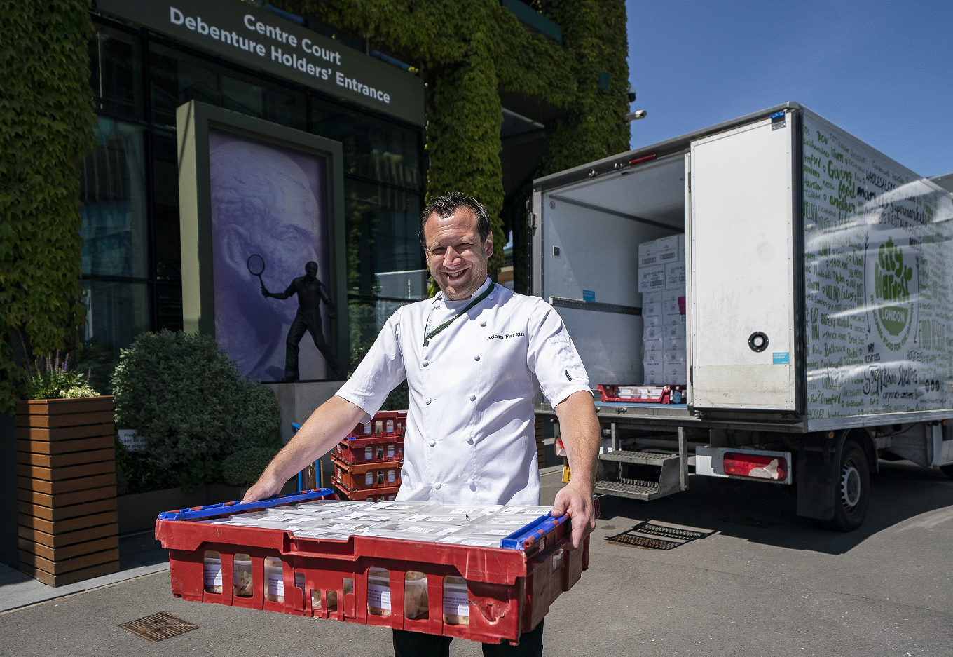 All England Lawn Tennis Club opens kitchen to provide meals to local community