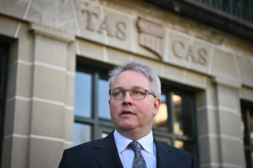 CAS secretary general Matthieu Reeb said the court deals with up to 700 cases a year ©Getty Images