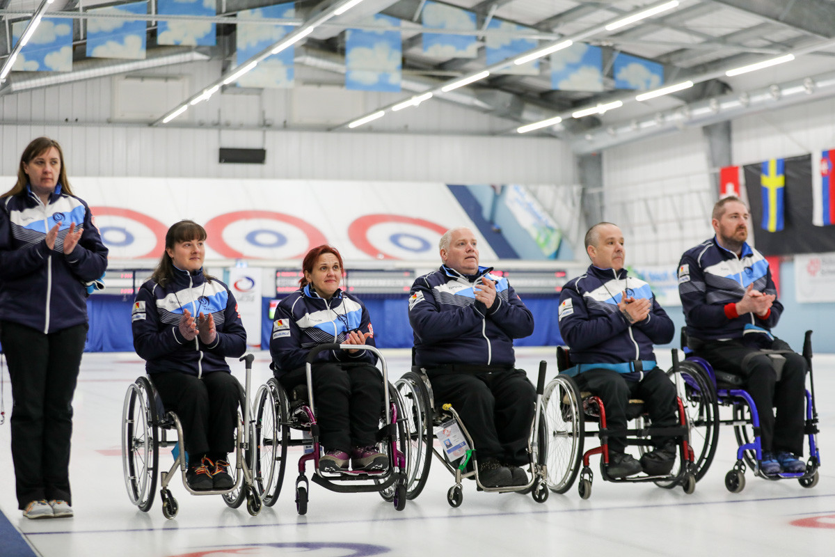 British wheelchair curling squad for next season announced