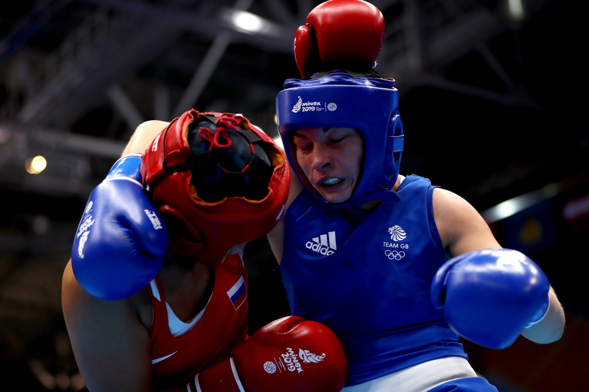 Middleweight world champion Lauren Price is set to take part in the training camp ©Getty Images