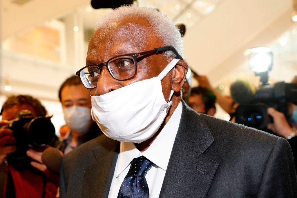 Lamine Diack's trial opened in Paris today ©Getty Images