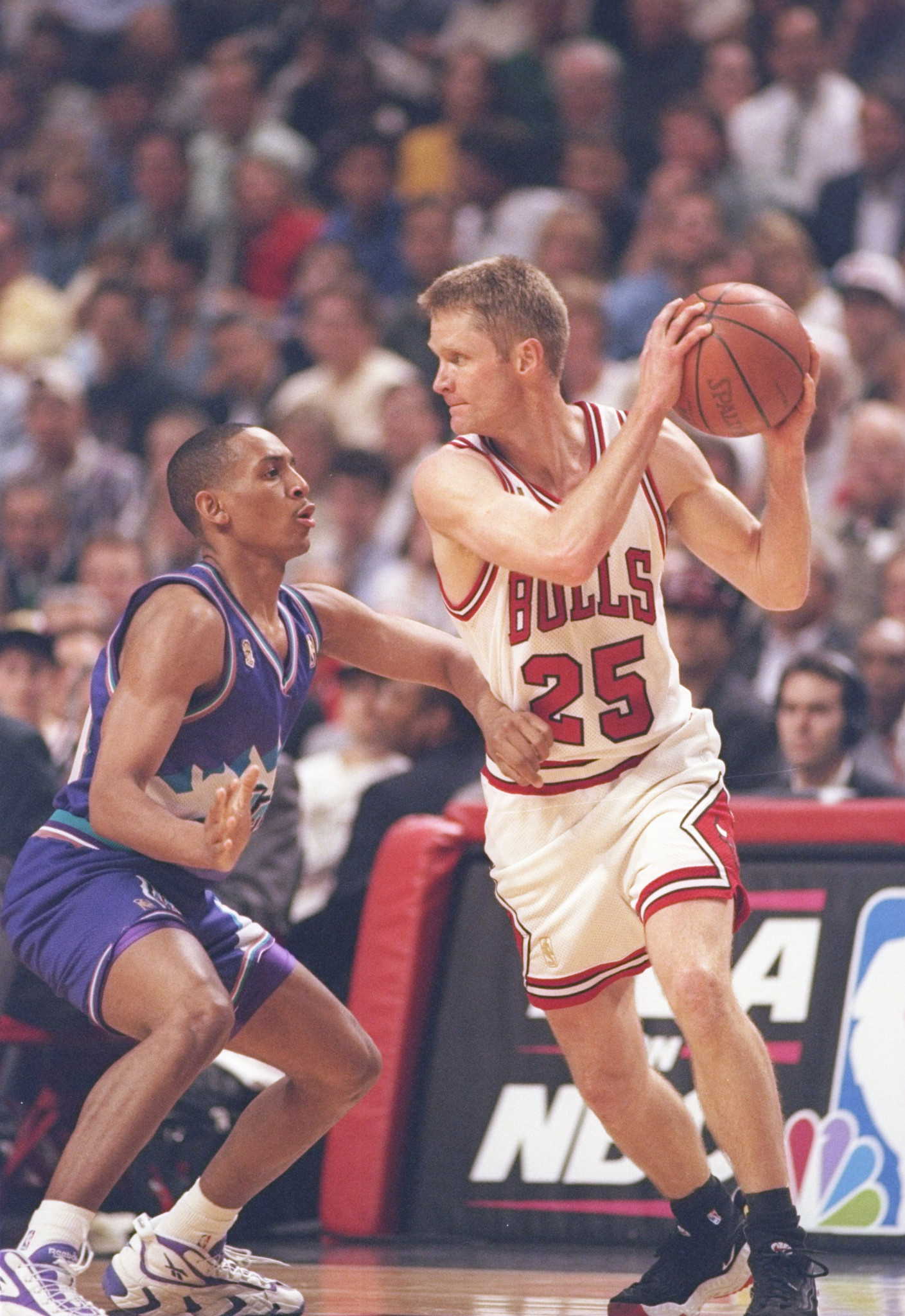 Chicago Bulls star Kerr's game-winning shorts up for auction