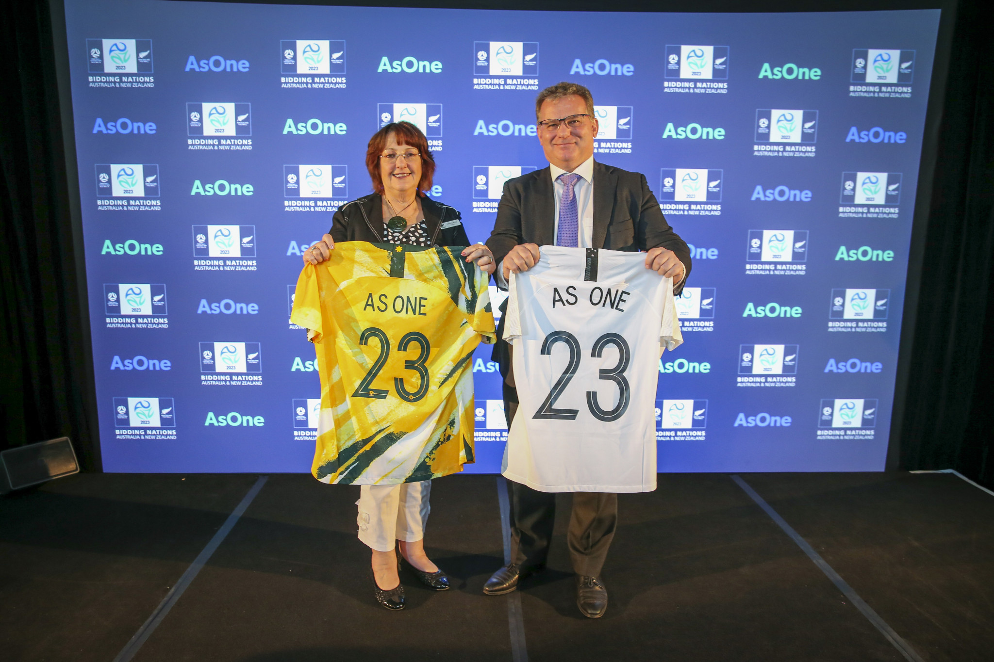 The joint bid from Australia and New Zealand for the 2023 FIFA Women's World Cup has scored the highest in an evaluation report of the three contenders ©Getty Images