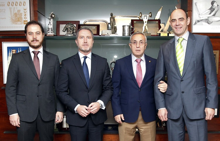 Spanish Olympic Committee sign agreement to boost skills of athletes