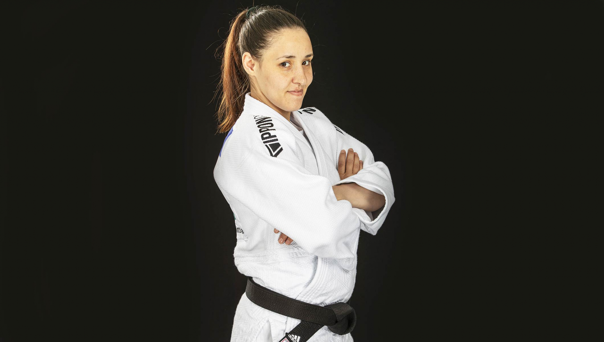 Sanda Aldass hopes to compete at Tokyo 2020 as part of the refugee Olympic team ©International Judo Federation