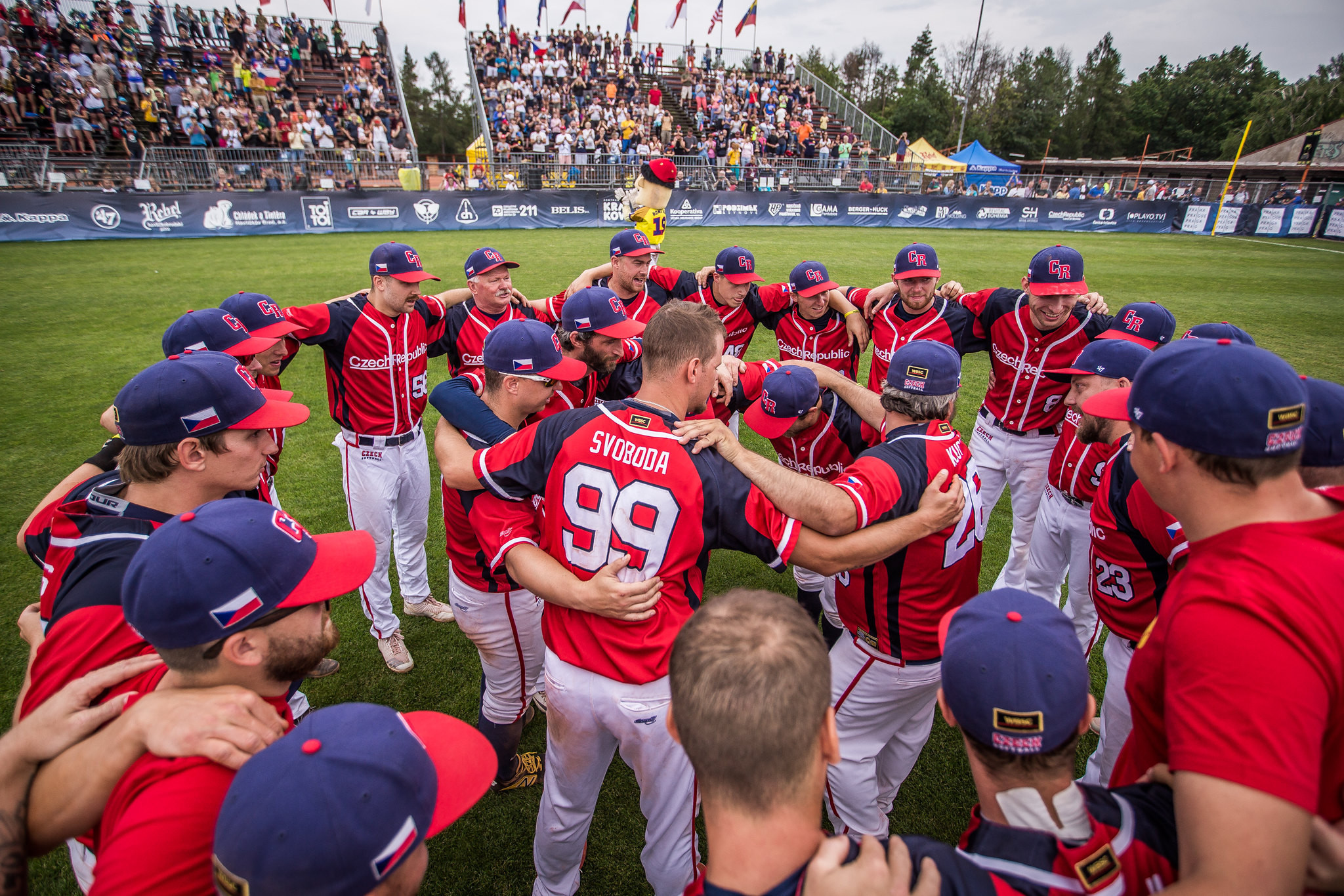 The Men's Softball World Cup will start in Auckland on February 19 2022 ©WBSC
