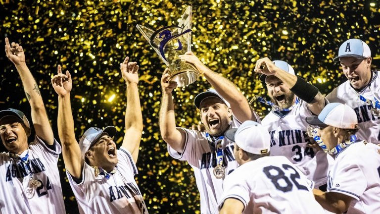 Argentina are the defending champions for the Men's Softball World Cup ©WBSC