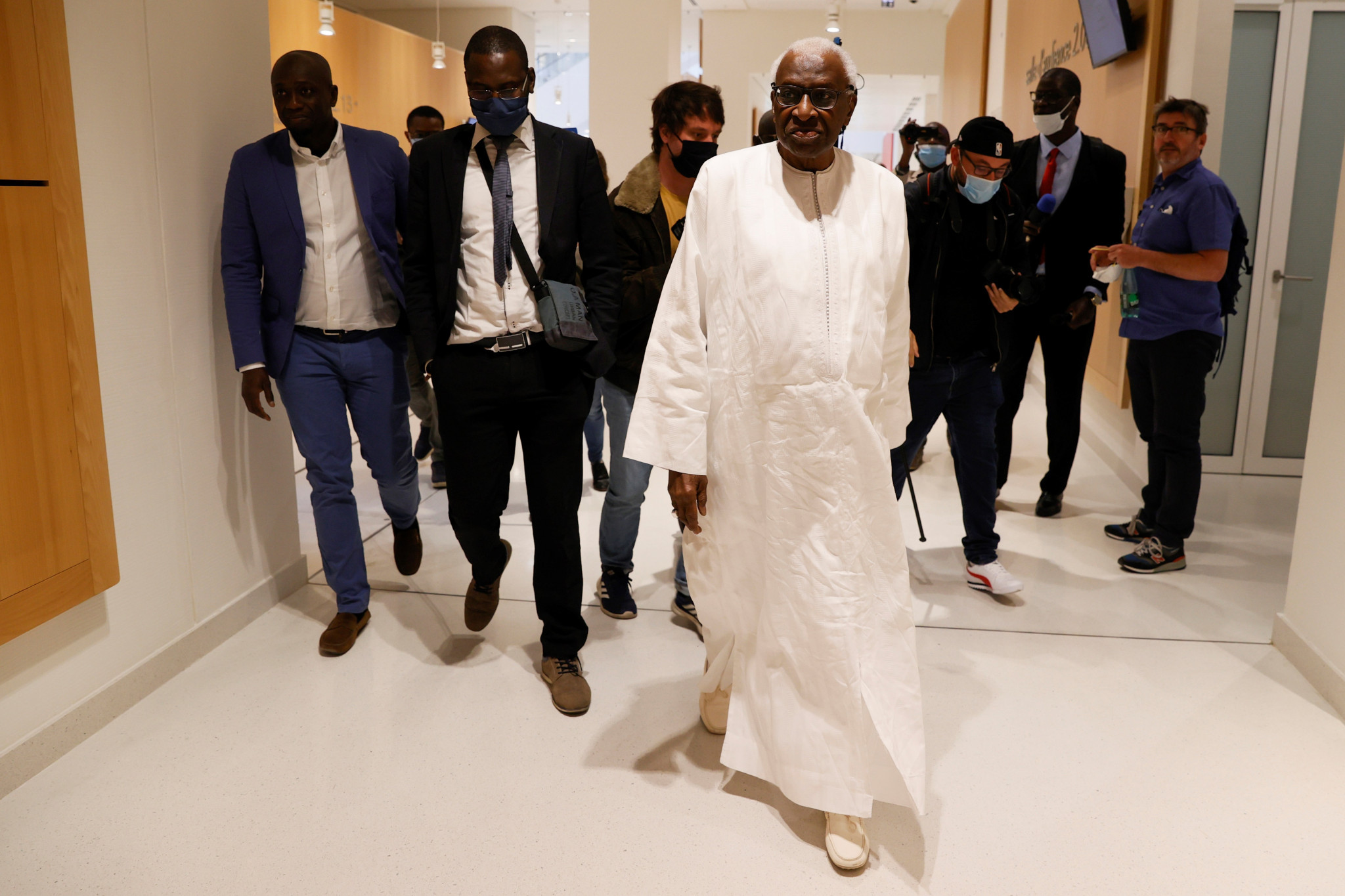 """Former IAAF President Diack brands son as """"thug"""" during corruption trial"""