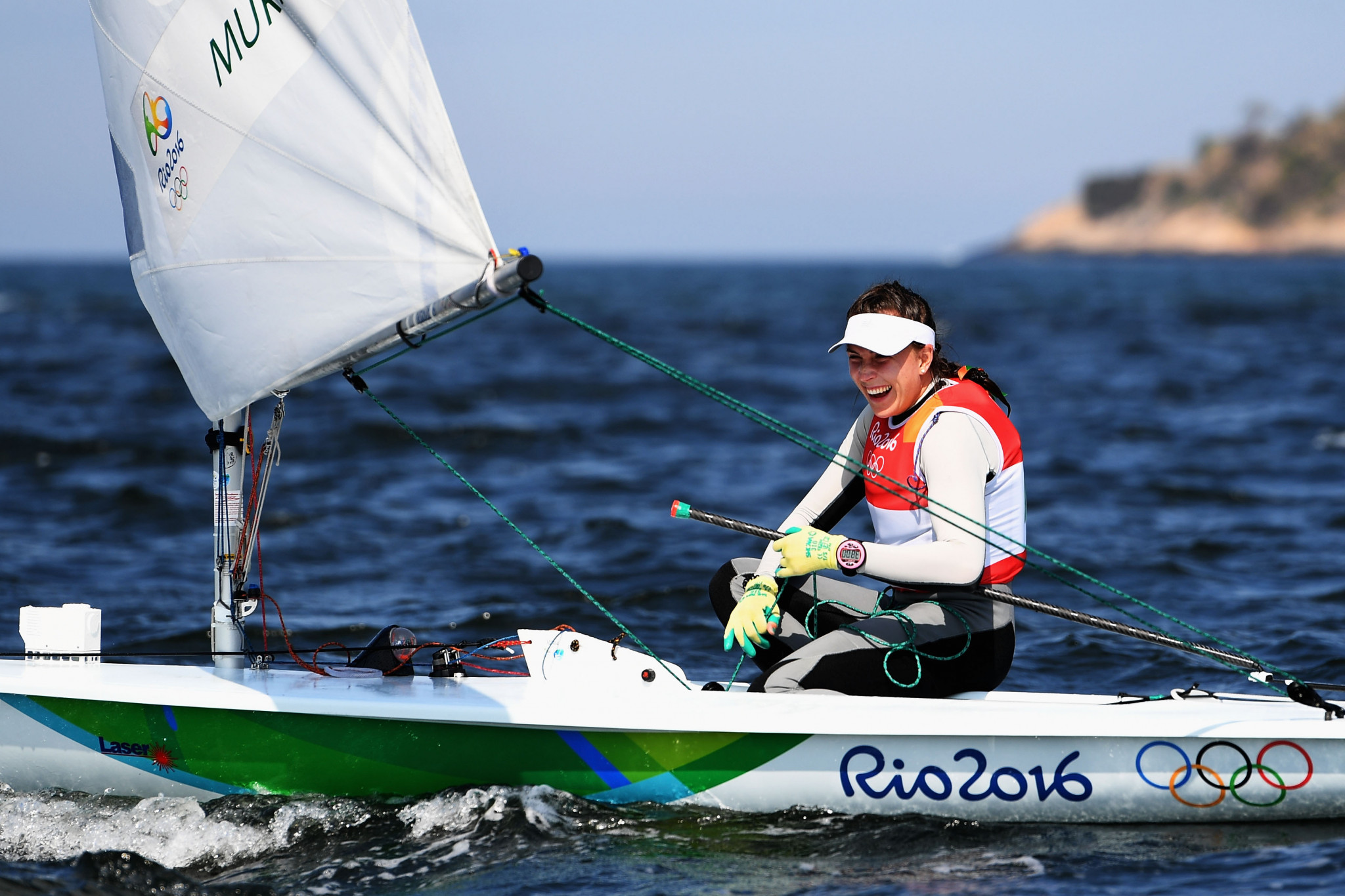 Annalise Murphy earned one of two silver medals for Ireland at the Rio 2016 Olympic Games ©Getty Images