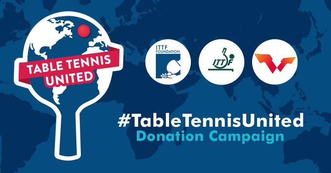 ITTF Foundation launch #TableTennisUnited fundraising campaign