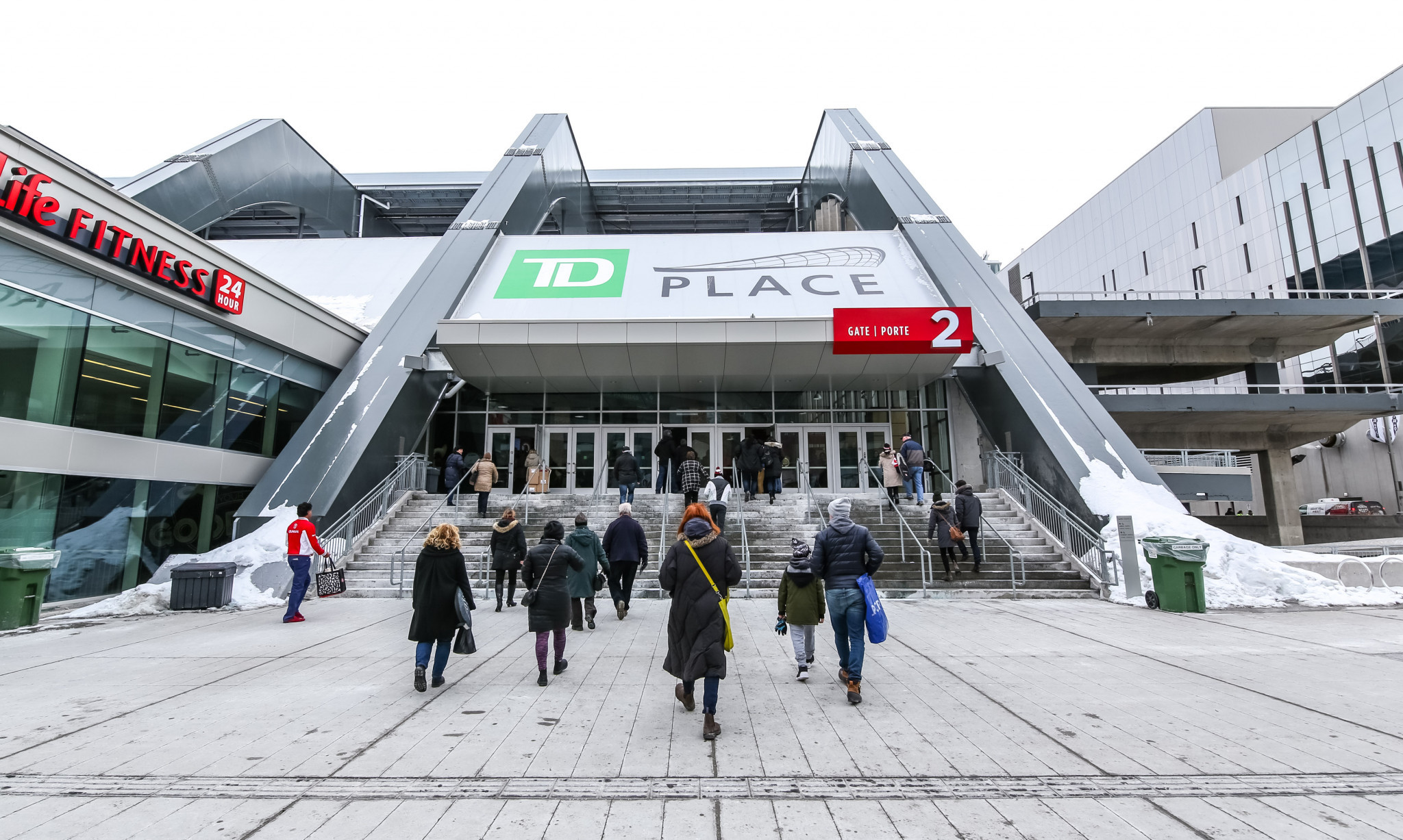 TD Place Arena has been announced as the venue for the event ©Getty Images