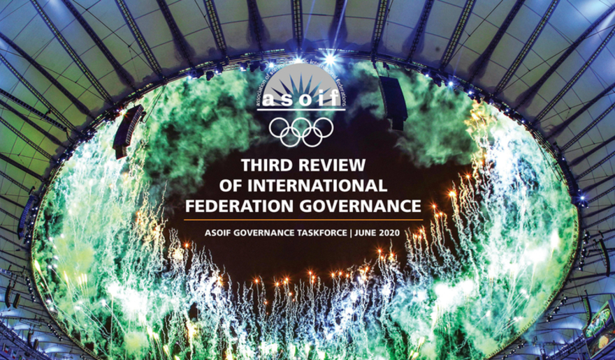 ASOIF published its third governance review yesterday ©ASOIF