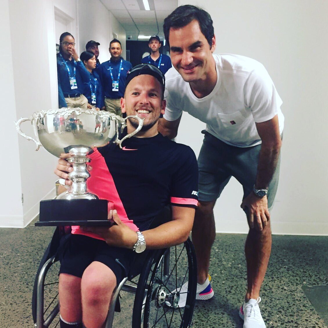 Federer, Djokovic and Murray backing campaign to get wheelchair tennis restored to US Open programme