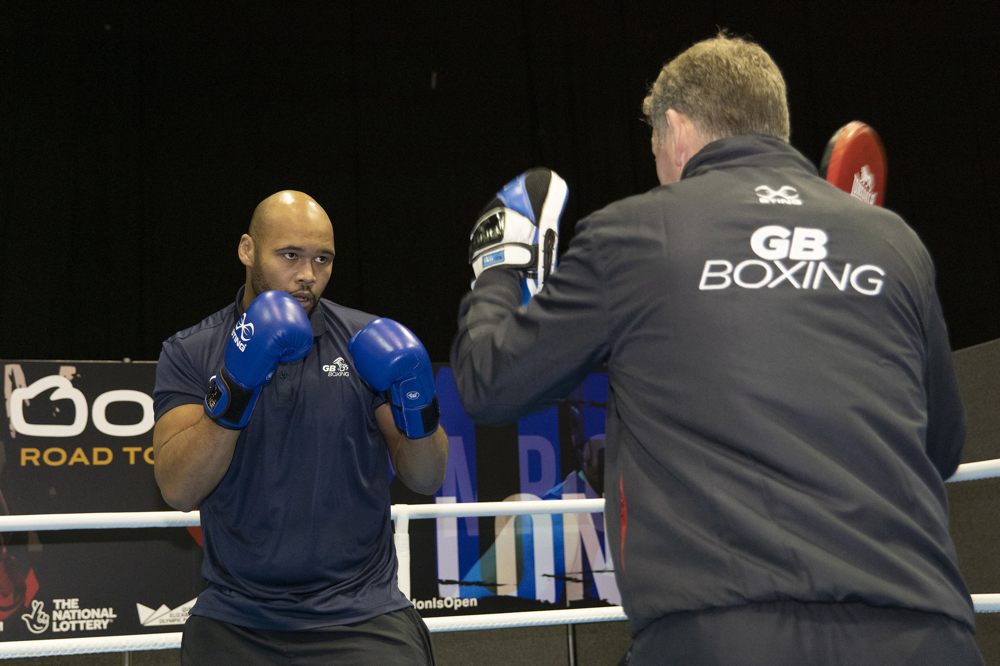 Boxers who are part of Britain's Olympic programme are returning to contact training this week ©GB Boxing