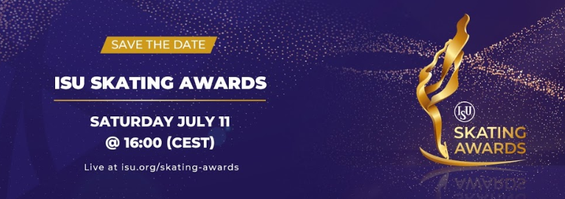 ISU Awards to be held virtually and streamed live on July 11