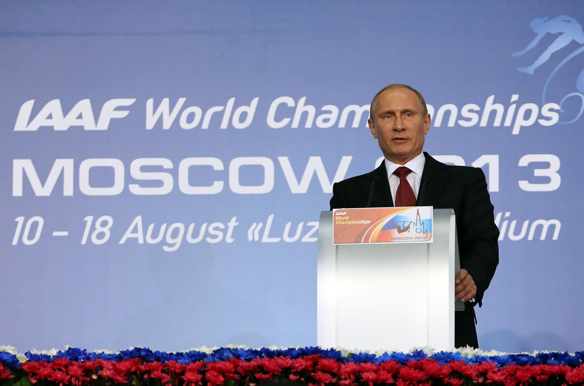 Russian world champions ask Putin to intervene in RusAF-World Athletics dispute