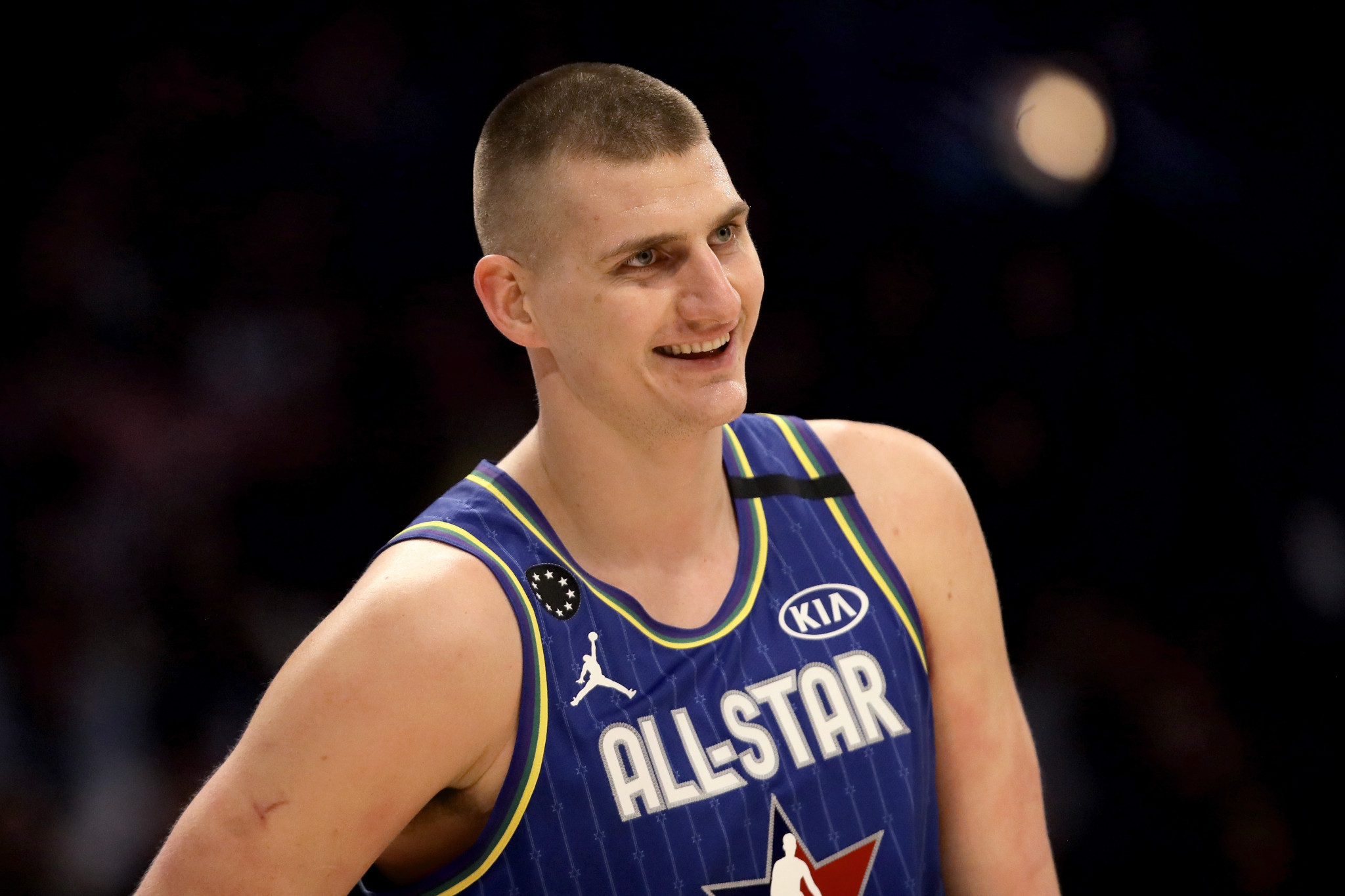 Nikola Jokić is the latest Serbian to test positive for COVID-19 ©Getty Images