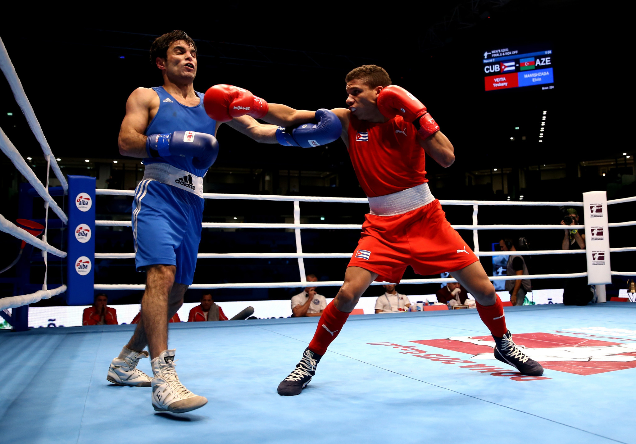 The new cooperation between AIBA and ITA will aim to educate boxers on anti-doping ©AIBA