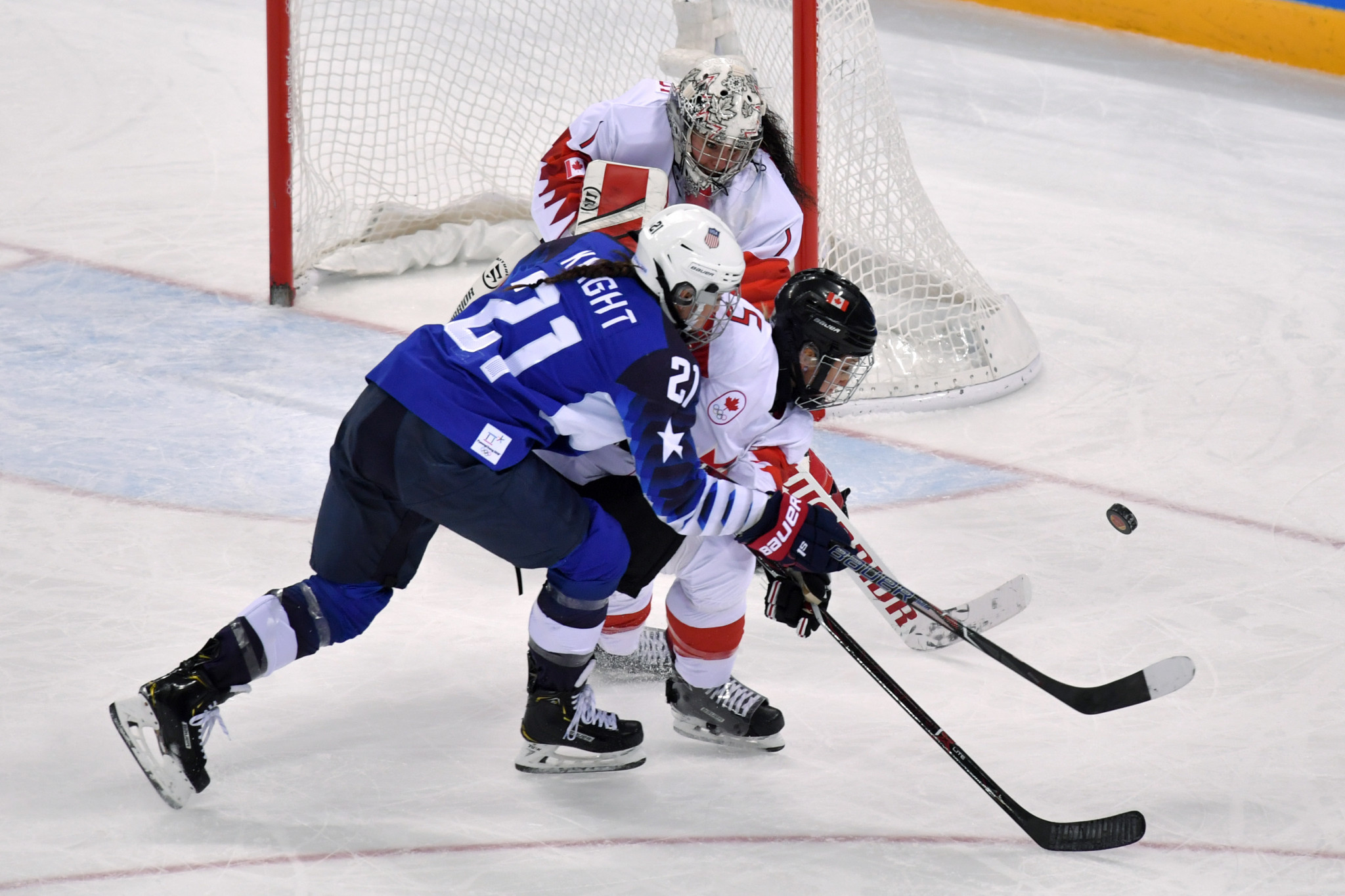 Qualification for the women's ice hockey contest at the Beijing 2022 Winter Olympic Games is due to start in December ©Getty Images