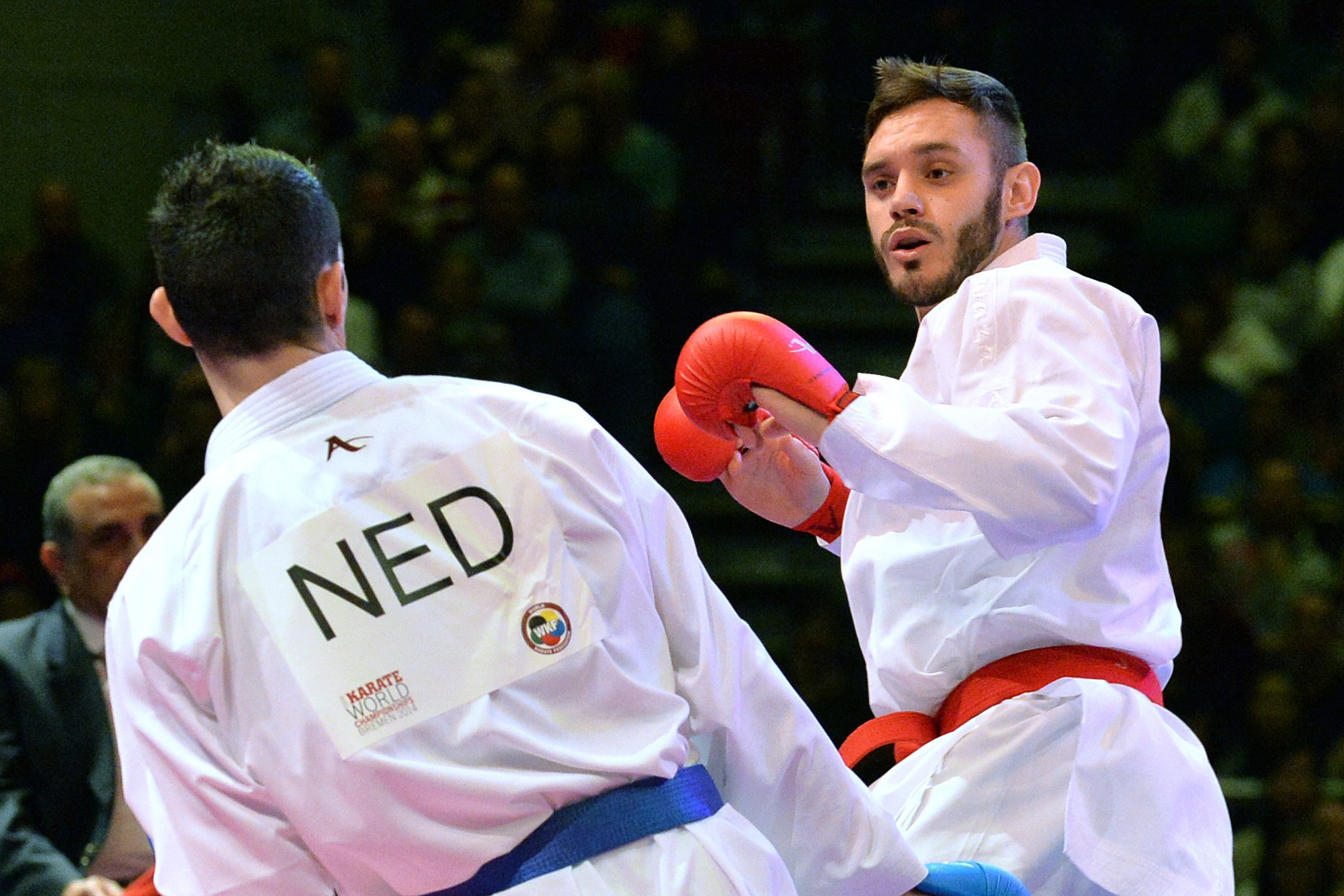 Two-time world champion Brose takes part in second WKF online training session