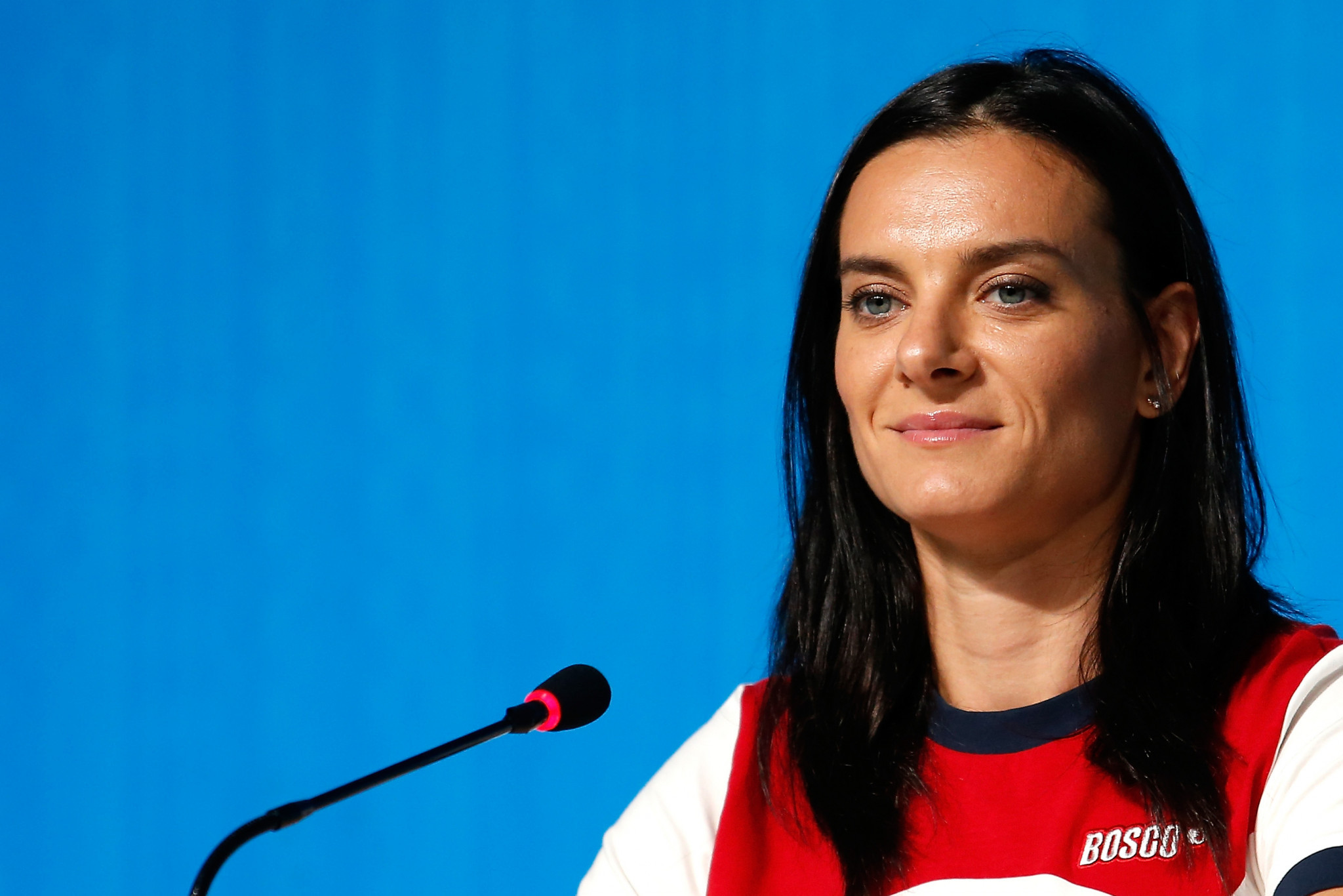 Russia's two-time Olympic pole vault champion Yelena Isinbayeva wrote an open letter to the IOC and World Athletics ©Getty Images