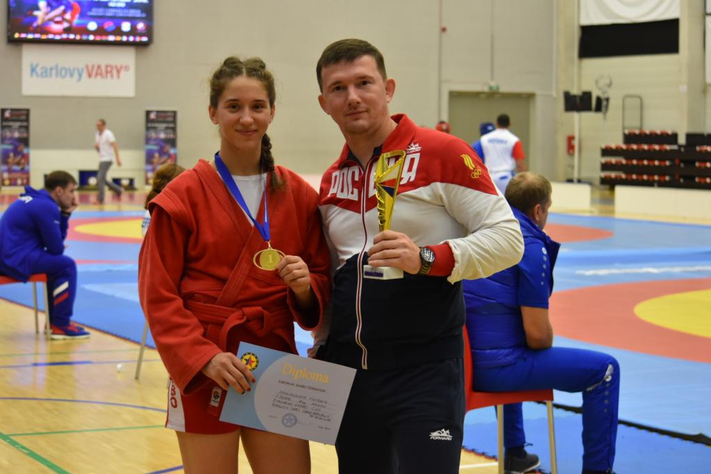 At 20, Victoria Sergievskaya is one of Russia's top young sambists ©FIAS
