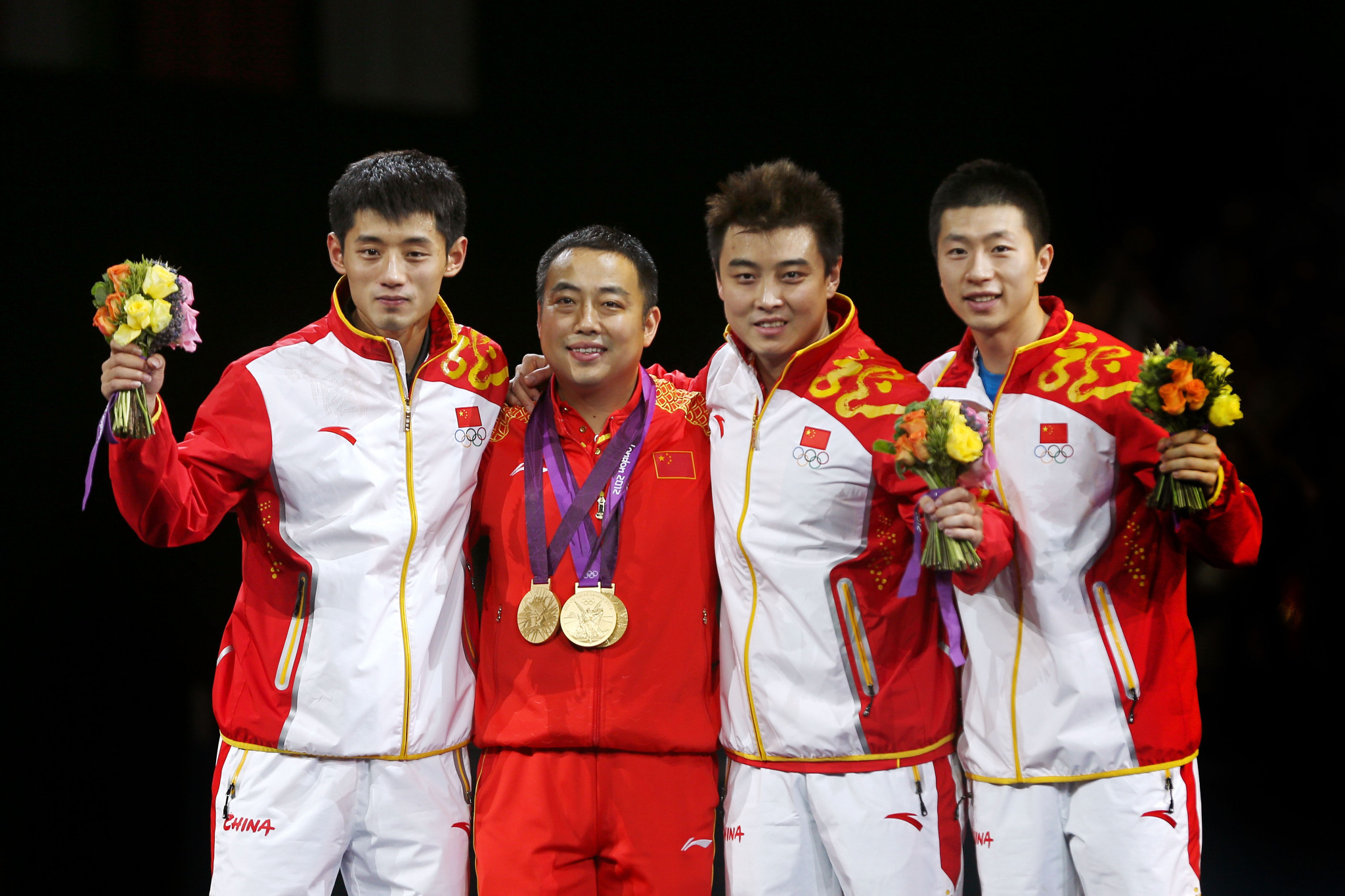 Liu Guoliang has helped China to success in the men's table tennis at recent Olympic Games ©Getty Images