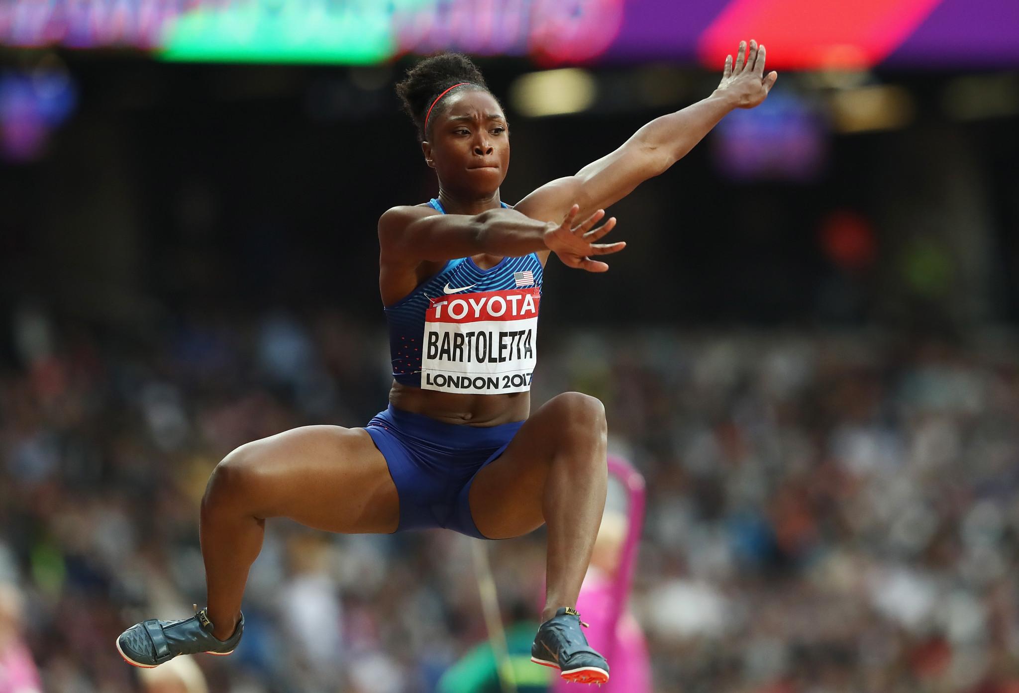 Olympic champion Bartoletta slams Coleman over attitude towards whereabouts failures