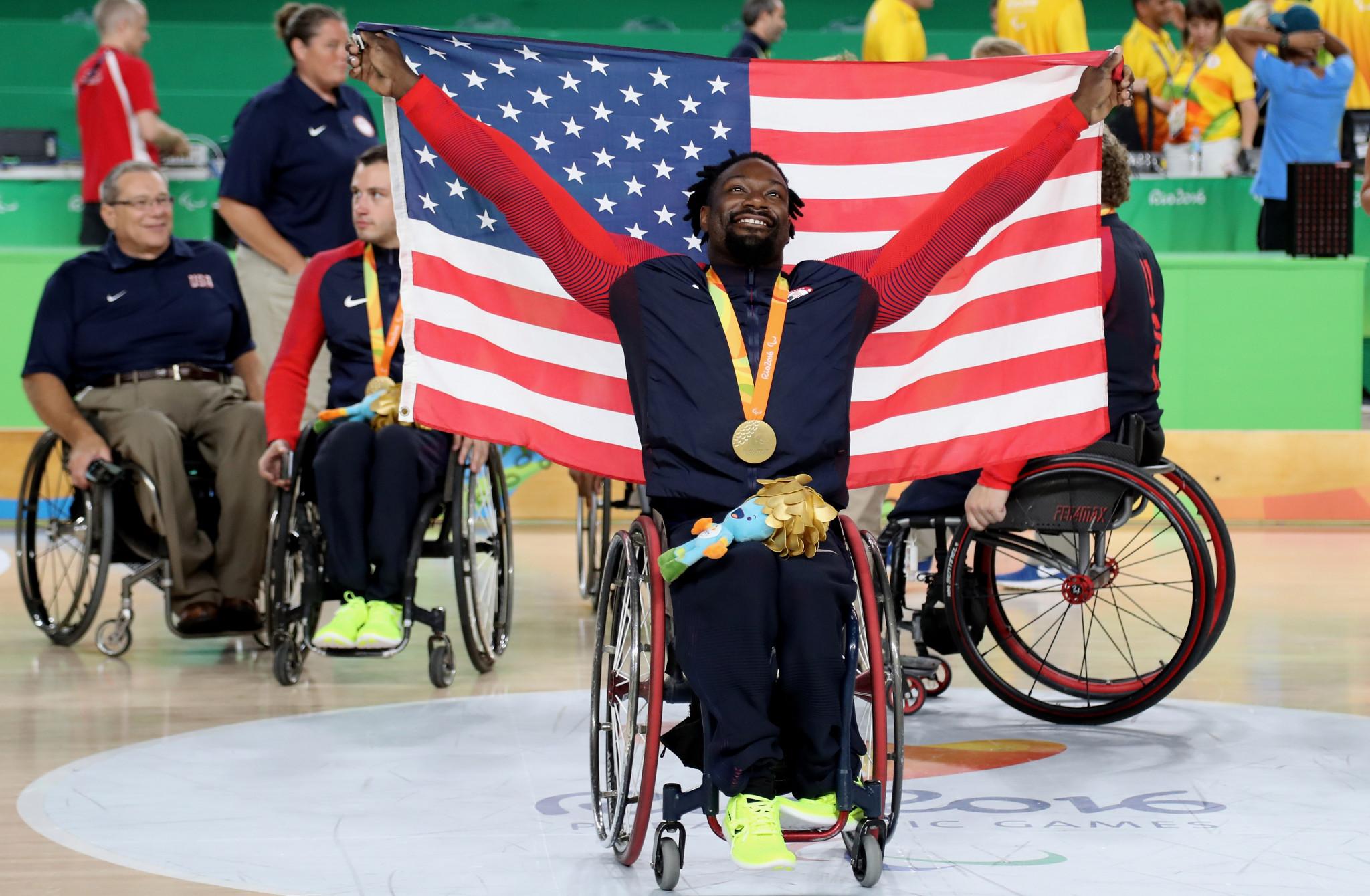 Matt Scott will lead Angel City Games wheelchair basketball clinic ©Getty Images