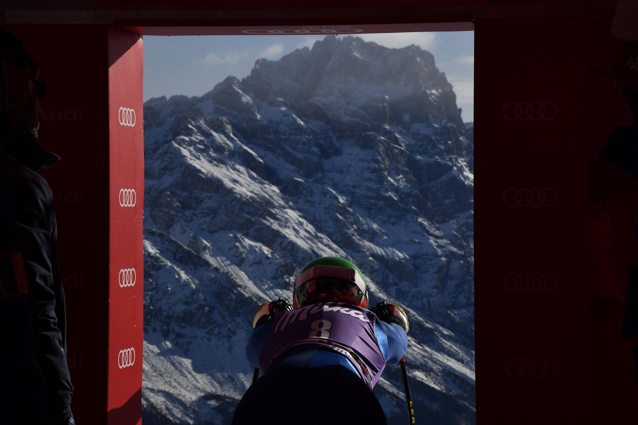 Cortina d'Ampezzo Alpine World Ski Championships to remain in 2021