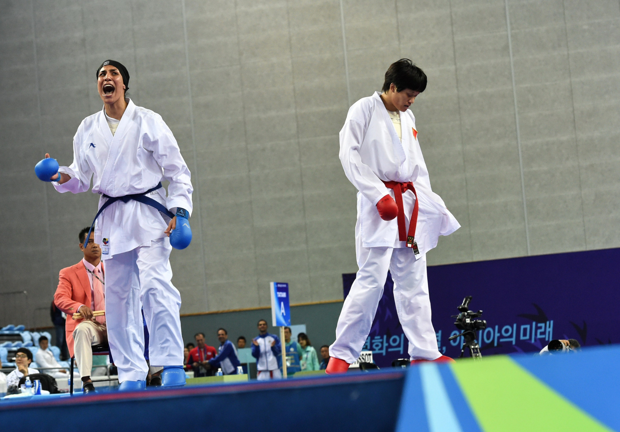 Karate star relishes extra year before Tokyo 2020 due to injury recovery